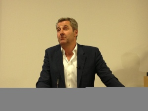 ITV news anchor Mark Austin at Leeds Trinity Journalism Week
