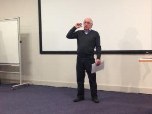 Professor Alan Middleton, author of Journalism Beyond Leveson