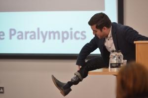 Alex Brooker at Journalism Week