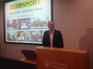 Ben Smith, BBC Sport