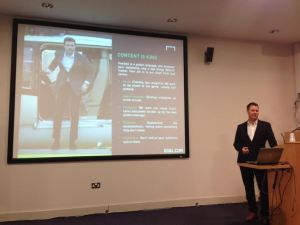 Graham talked about how perform manage their sports sites.