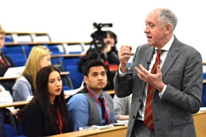 Harry Gration at Leeds Trinity's Journalism Week