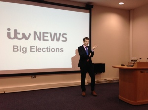 Michael Herrod, Foreign Editor at ITV News