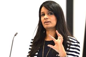 Former Newsround presenter Sonali Shah
